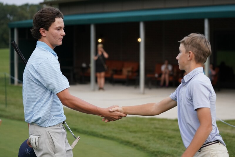 Image from the 2022 Drive, Chip and Putt Regional Qualifier at Medinah Country Club on September 11, 2021.